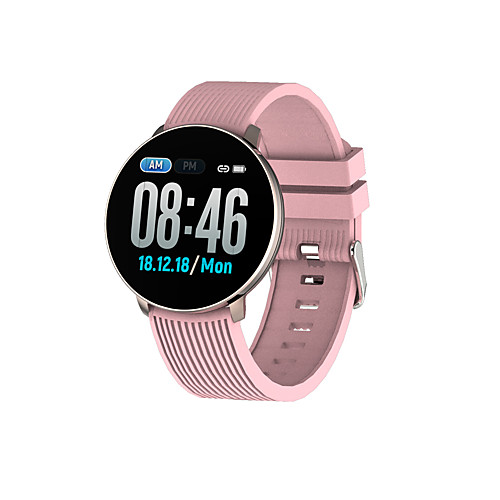 Kimlink LV18 Men Women Smartwatch Android iOS Bluetooth Information Message Control Anti-lost Distance Tracking Exercise Record Chronograph Exercise Reminder Community Share Alarm Clock Find My Device