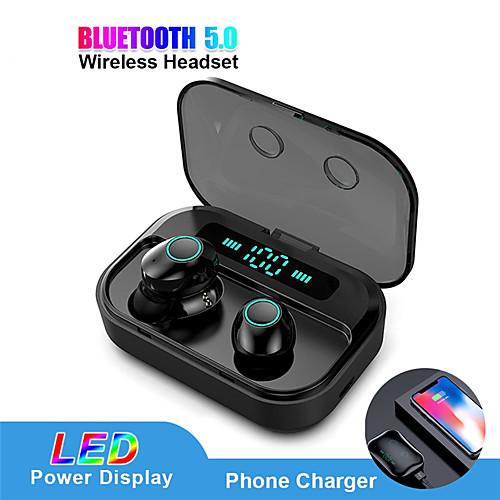 LITBest LX- M7 TWS Bluetooth 5.0 Oortelefoon Stereo Draadloze Earbus MINI HIFI Sound Sport Koptelefoon Handsfree Gaming Headset met Microfoon
