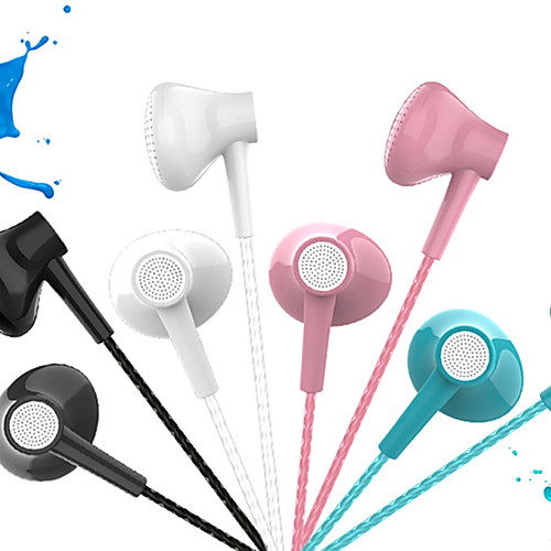 DUDAO DT-226 Wired 3.5mm In-ear Earbud Headphones Dynamic Crystal Clear Sound Ergonomic Ears Comfort-Fit Classic Colors