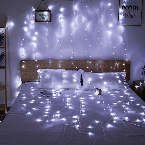 Image result for curtain fairy lights 3 m white