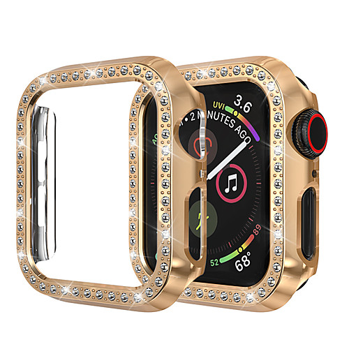 For Apple Watch IWatch Case 44mm/40mm/38mm/42mm Series 4 3 2 1 IWatch Case Cover Protective Frame With Bling Crystal Rhinestone Diamond