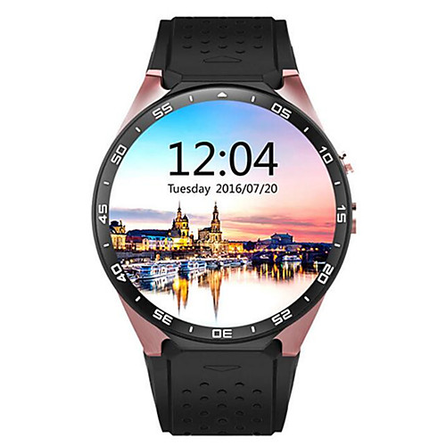 KING-WEAR® KW88 Men Smartwatch Android Bluetooth GPS Sports Touch Screen Calories Burned Long Standby Timer Activity Tracker Sleep Tracker Sedentary Reminder Find My Device / Hands-Free Calls