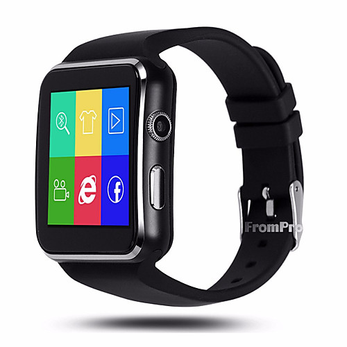 YYX6 Men Smartwatch Android iOS Bluetooth GPS Sports Touch Screen Calories Burned Long Standby Activity Tracker Sleep Tracker Sedentary Reminder Find My Device Exercise Reminder / Hands-Free Calls