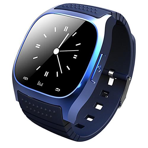 M26 Men Women Smartwatch Android Bluetooth Smart Long Standby Calories Burned Heart Rate Monitor Waterproof Alarm Clock Sedentary Reminder Sleep Tracker Call Reminder Pedometer Smart watch