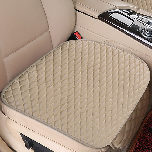Universal Car Seat Cover PU Leather Cushions Organizer Auto Front Back Seats Covers Protector Mat