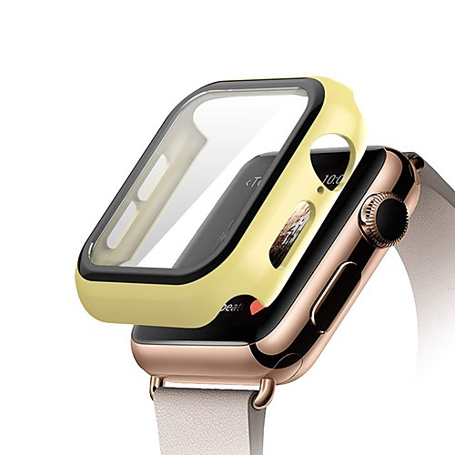 Watch caseTempered Glass For Apple Watch 5 3 4 band iWatch 5 3 4 42mm 38mm protector case cover bumper applewatch 44mm 40mm
