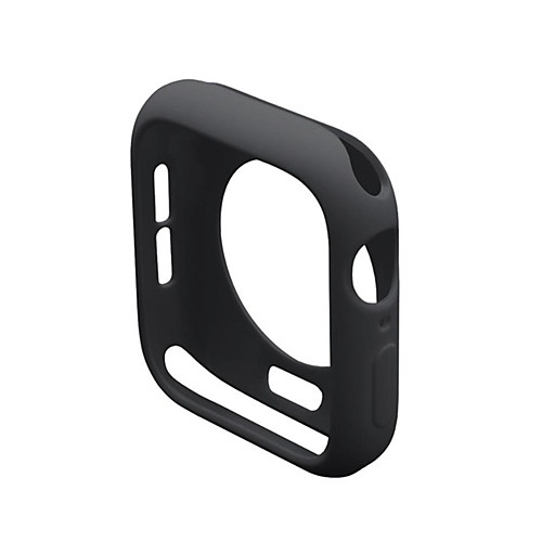 Soft Silicone Case For Apple Watch Series 5 4 3 2 1 Cover Frame Protection Bumper For iWatch Band 42mm 38mm 40mm 44mm