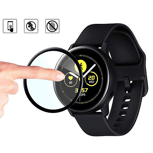 2pcs/lot Protective Film Cover For Samsung Galaxy Watch Active 2 40mm 44mm Active2 Full Edge Screen Protector