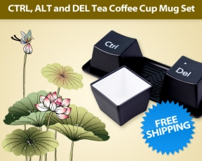 Review On Ctrl Alt And Del Tea Coffee Cup Mug Set Deal