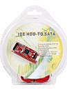 하드 디스크 / CD / DVD에 대한 SATA 133분의 100에 IDE 변환기 카드