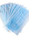 stériles jetables en coton médicinales masques faciaux chirurgicaux de sécurité (10-masque pack)