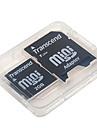 2gb trascender tarjeta de memoria miniSD y Adaptador SD SDHC