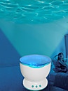 Romantic Ocean Wave Projector Night Light Speaker Lamp (AC/USB)