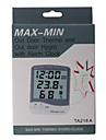 Digital LCD Outdoor Temperature Hygrometer Thermometer With Alarm TA218A
