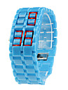 Lava Style  Samurai Blue LED Faceless Watch