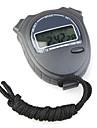 ta228 хронограф цифровой секундомер спорта (черный)