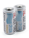 Great Power CR123A Lithium Battery-White (2-Pack)