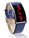 Elegant PU Band LED Wrist Watch For Women(Blue) Cool Watch Unique Watch