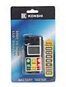 """1,2 """"LCD digital hög noggrannhet batteritestare"""