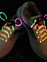 Flash Grow Stick Colorful Light Waterproof LED Shoelace (1-Pair)