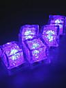 Diamant Eis würfelförmigen purple LED-Licht (12-pack)