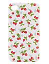 iphone4g (흰색)에 대한 세련된 딸기 하드 케이스