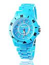 Japanese PC Movement Plastic Band Wrist Watch, Blue