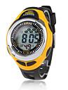 Men's Watch Sport EL Light Digital Multi-Functional Silicone Strap Cool Watch Unique Watch Fashion Watch