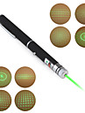 Pen Shape 5-Mønster Special Effect 5mW 532nm grøn laser pointer (2xAAA)