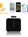 Mini Universal Solar Battery Charger for iPhone, iPod, Android Phone and USB Devices - White