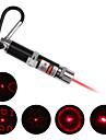 Porte-Clés Laser LED Rouge 4 en 1 - Argent