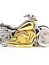 열쇠 고리로 스테인리스 스틸 회중 시계