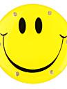 blinkende LED lächelndes Gesicht Abzeichen