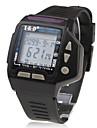 Водонепроницаемые цифровые часы с календарем, будильником, хроногрофом, черные