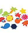 다채로운 해양 생물 테마 냉장고 자석 (12 팩)