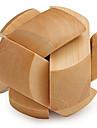 Wooden IQ Brain Teasr Football IQ Puzzle Magic Cube
