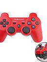 Comando Sem Fios para PS3 (Vermelho+Preto)