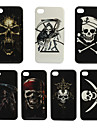 Skeleton Design Plastic Hard Cover Case for iPhone 4 (Assoted Color)