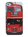 Bus Pattern Hard Case for iPhone 4 / 4S