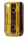블랙 베리 8520, 8530, 9300, 9330에 대한 보호 노란색 테이프 패턴 케이스