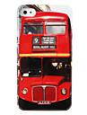 Housse de protection rigide abs pour iPhone 4 et 4s (bus rouge)