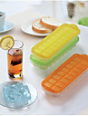 16-Grid Ice Tray Mold with Lid (Random Color)