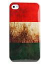 아이폰 4와 4S (hungarianflag)에 대한 보호 레트로 스타일의 폴리 카보네이트 케이스