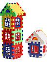 farverig hus byggesten