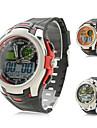 des hommes de silicone analogique-numérique montre-bracelet mouvements (couleurs assorties)