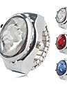 Женские Модные часы Кварцевый сплав Группа Блестящие Цветы Серебристый металл
