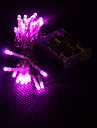 3m 30-розовым светом под руководством 2-режиме светодиодный светильник строку фея на Рождество (3xAA)