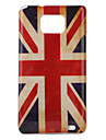 bandeira de união antiquado estilo vidros estojo protetor rígido para i9100