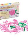 Mini DIY 3D Crystal Rose Puzzle