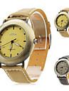 Unisex PU Analog Quartz Wrist Watch (Assorted Colors)